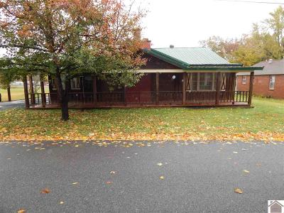 Benton KY Single Family Home For Sale: $89,900