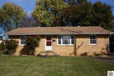 Murray Single Family Home For Sale: 1666 Calloway Avenue
