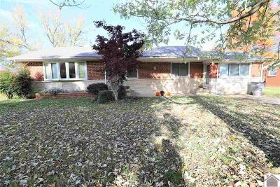 Paducah Single Family Home Contract Recd - See Rmrks: 204 Lakeview