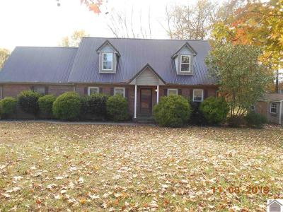 Trigg County Single Family Home For Sale: 25 Dogwood Dr.