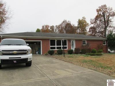 Paducah Single Family Home Contract Recd - See Rmrks: 3830 Cleary Drive