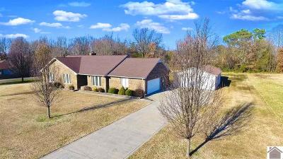 Paducah Single Family Home For Sale: 5255 Tuck Road