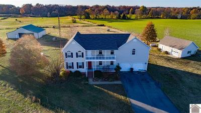 Calloway County Single Family Home Contract Recd - See Rmrks: 5620 E Hwy 80