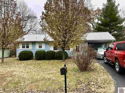 Calvert City Single Family Home Contract Recd - See Rmrks: 571 Evergreen St.
