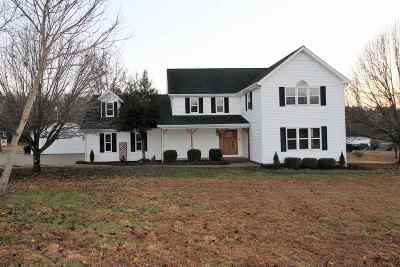 Marshall County Single Family Home For Sale: 63 Rock Castle Rd