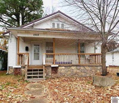 Paducah Single Family Home Contract Recd - See Rmrks: 2033 Clay Street