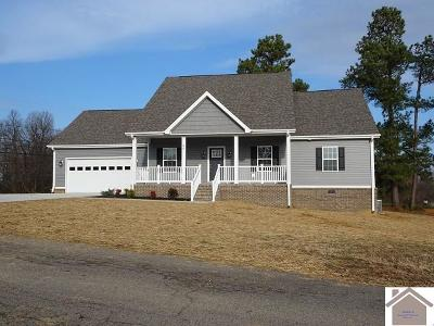 Calloway County, Marshall County Single Family Home For Sale: 25 Lucille Lane