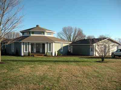 Princeton, Eddyville, Kuttawa, Cadiz Single Family Home For Sale: 199 Chasity Dr
