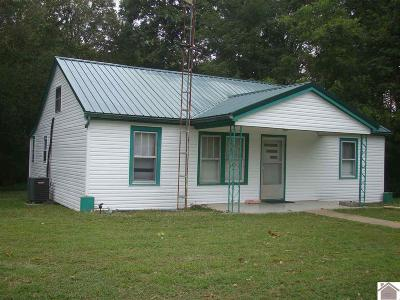 Lyon County, Trigg County Single Family Home For Sale: 115 Military Road