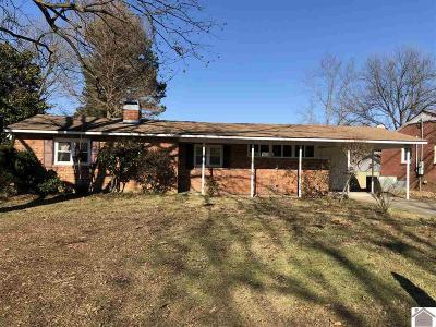 Calloway County, Marshall County Single Family Home For Sale: 1704 Ryan Avenue