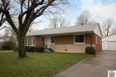 Paducah Single Family Home Contract Recd - See Rmrks: 129 Milton Drive