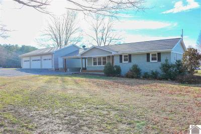 Benton KY Single Family Home For Sale: $169,900