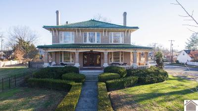 Paducah Single Family Home For Sale: 1924 Jefferson Street