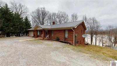 Cadiz, Trigg County, Eddyville, Kuttawa, Grand Rivers Single Family Home Contract Recd - See Rmrks: 81 Beech Point