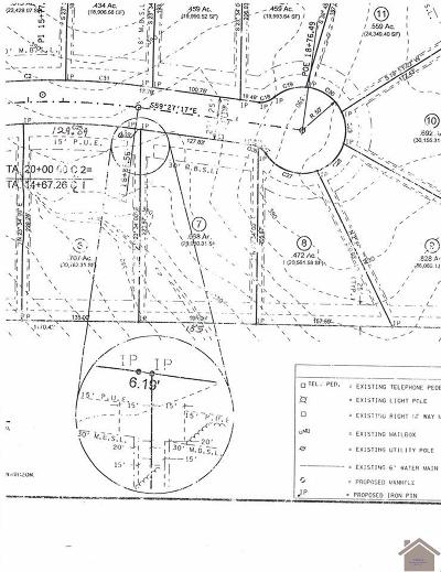 McCracken County Residential Lots & Land For Sale: 155 Meadow Ridge Drive