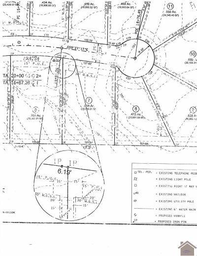 Paducah Residential Lots & Land For Sale: 155 Meadow Ridge Drive