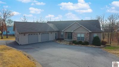 Murray, New Concord, Grand Rivers, Benton, Gilbertsville Single Family Home For Sale: 114 Frederica Dr