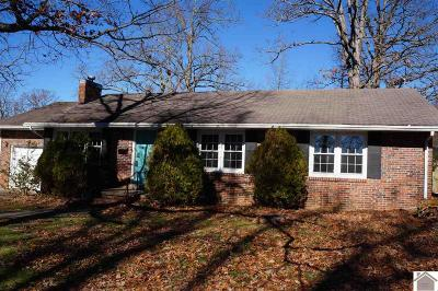 Calloway County Single Family Home For Sale: 1406 Sycamore