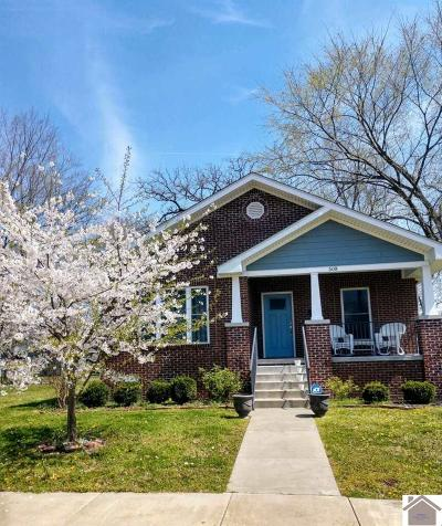 Paducah Single Family Home For Sale: 508 N 16th
