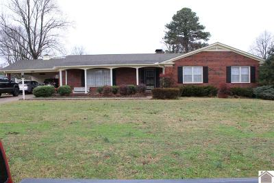 Calloway County Single Family Home Contract Recd - See Rmrks: 1500 Story