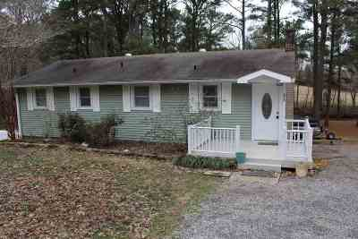 Murray, New Concord, Grand Rivers, Benton, Gilbertsville Single Family Home For Sale: 675 Lakeway Drive