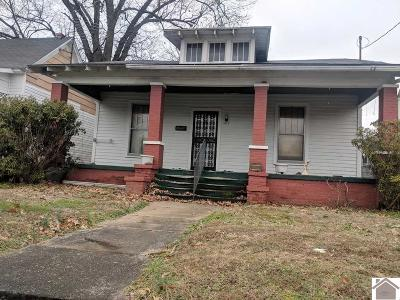 Paducah Single Family Home For Sale: 1907 Clay Street