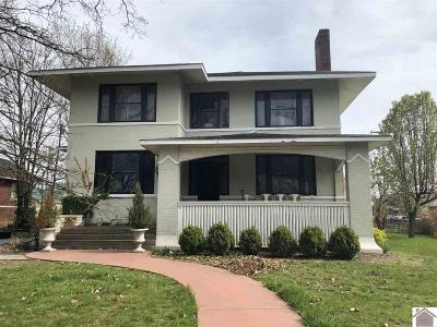 Paducah Single Family Home For Sale: 2330 Jefferson