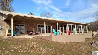Cadiz, Trigg County, Eddyville, Kuttawa, Grand Rivers Single Family Home For Sale: 1355 Rolling Mill Road