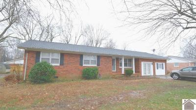 Paducah Single Family Home For Sale: 6845 Greenfield Drive