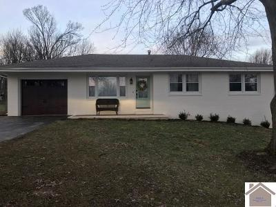 Princeton KY Single Family Home For Sale: $139,900