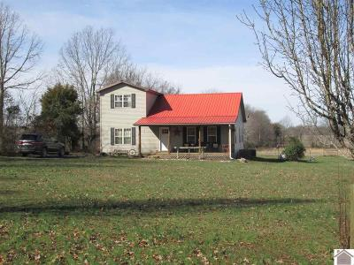 Cadiz KY Single Family Home For Sale: $129,000