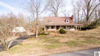 Paducah Single Family Home Contract Recd - See Rmrks: 1665 Shallow Creek Drive