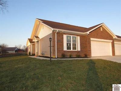 Condo/Townhouse For Sale: 418 Villa Ridge, Bldg J Unit 1