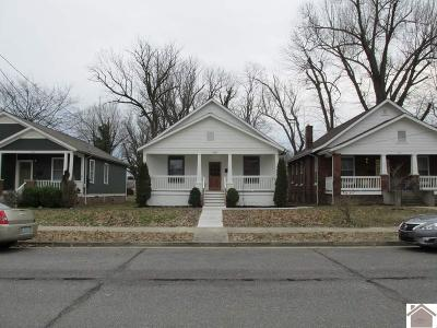 Paducah Single Family Home For Sale: 1618 Monroe Street
