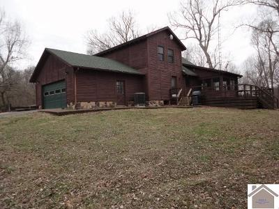 Livingston County, Lyon County, Trigg County Single Family Home For Sale: 105 Log Cabin Drive