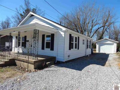 Benton KY Single Family Home Contract Recd - See Rmrks: $69,900