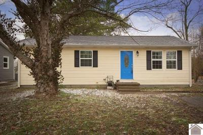 Paducah Single Family Home Contract Recd - See Rmrks: 216 Mohawk Drive
