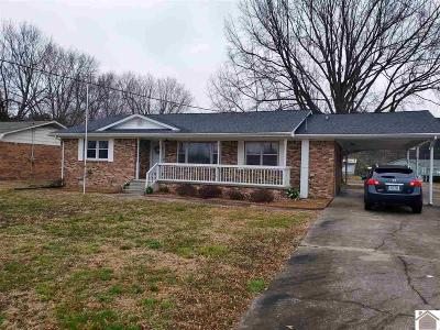 Paducah Single Family Home For Sale: 3030 Ramage Drive