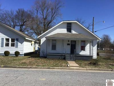 Paducah Single Family Home For Sale: 408 Otis Dinning Dr