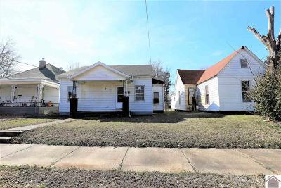Paducah Single Family Home For Sale: 1103 Ellis