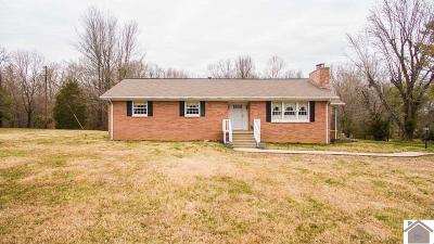 Paducah Single Family Home For Sale: 4955 Clinton Road