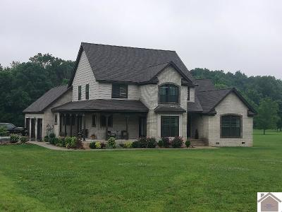 Calloway County, Marshall County Single Family Home For Sale: 203 Country Club Dr