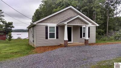 Murray, New Concord, Grand Rivers, Benton, Gilbertsville Single Family Home For Sale: 78 Trout Dr