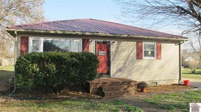 Princeton KY Single Family Home Contract Recd - See Rmrks: $105,000