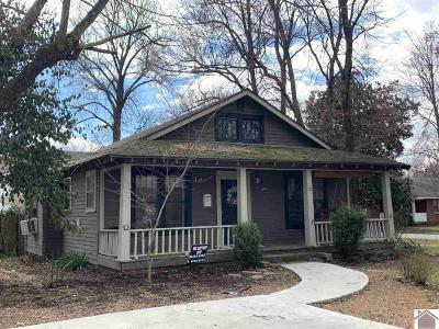 Calloway County Single Family Home For Sale: 1617 Main Street