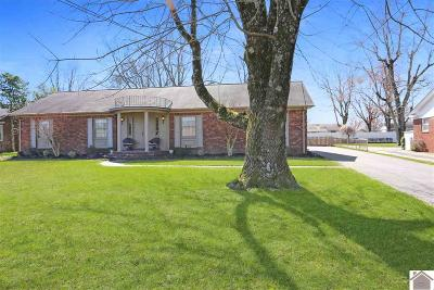 Calloway County Single Family Home For Sale: 1607 Keenland Drive