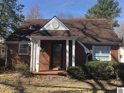 Paducah Single Family Home Contract Recd - See Rmrks: 309 N 31st Street