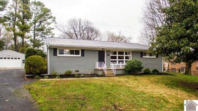 Paducah Single Family Home For Sale: 604 Lakeview Drive