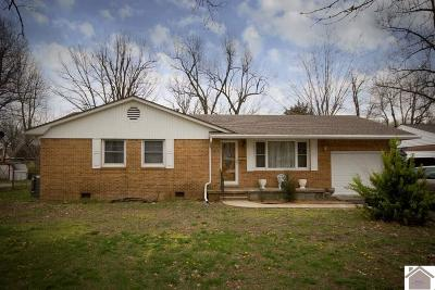 Paducah Single Family Home For Sale: 2550 Trimble