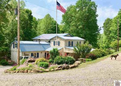 Dawson Springs Single Family Home Contract Recd - See Rmrks: 1632 Claxton Rd